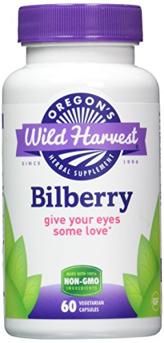Oregons Wild Harvest Bilberry Supplement product image