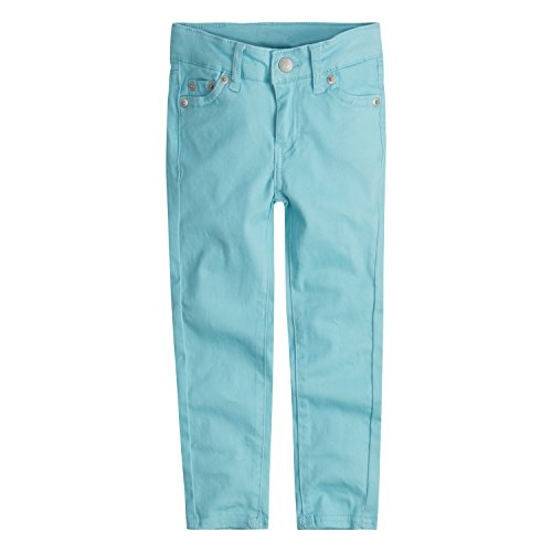 Levi's Big Girls' 710 Super Skinny Fit Soft Brushed Jeans, Antiqua Sand, 14