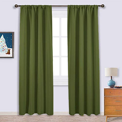 NICETOWN Blackout Curtain for Kitchen Window - Function Ther