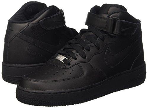De 1 Force 001 Wmns Zapatillas '07 black Negro Mid Mujer Para Air black Nike Deporte n60wxqUx
