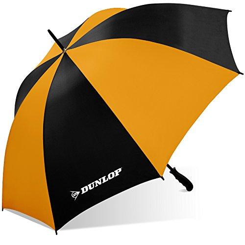 Dunlop Jumbo Golf Umbrella-Ms-56dl Blkor, Black/ Orange
