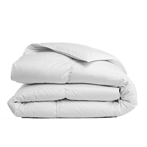 ALABAMA INTERIORS 100 % Cotton Comforters.Premium Quality Luxury Comforter, WHITE-Size King/Cal-King.