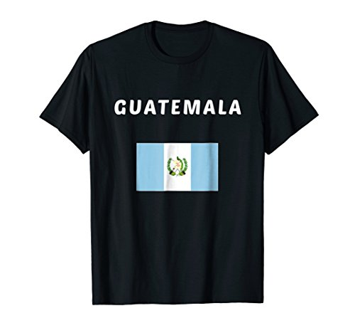 Guatemala Flag T-shirt - Guatemala T-shirt Guatemalan Tee Flag souvenir Gift