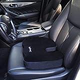 SnugPad Memory Foam Seat Cushion,Non-Slip