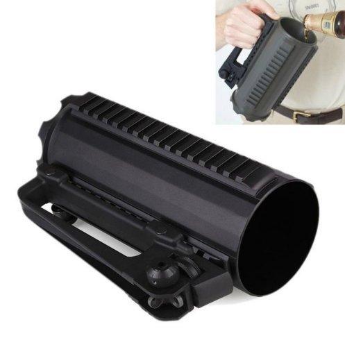 tattico militare multifunzione aluminum Carry sport esterno solido tazza di birra con rail Battle Combat tazza staccabile e5e10