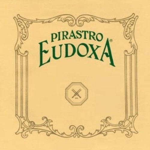 (Pirastro Eudoxa 4/4 Violin String Set - Medium Gauge with Ball-End E)
