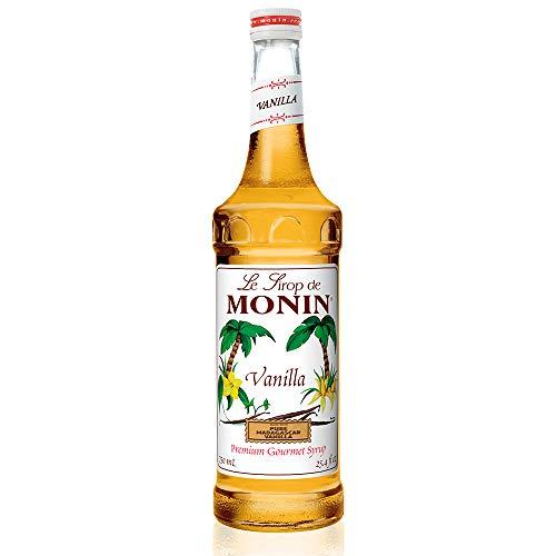 (Monin - Vanilla Syrup, Versatile Flavor, Great for Coffee, Shakes, and Cocktails, Gluten-Free, Vegan, Non-GMO (750 Milliliters))