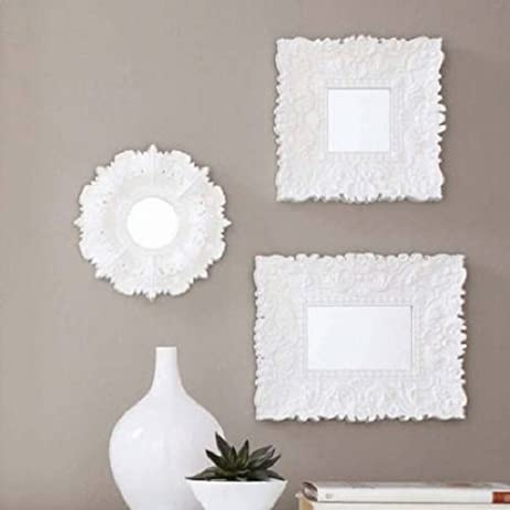 Amazoncom Better Homes and Gardens White Baroque Easy to Hang