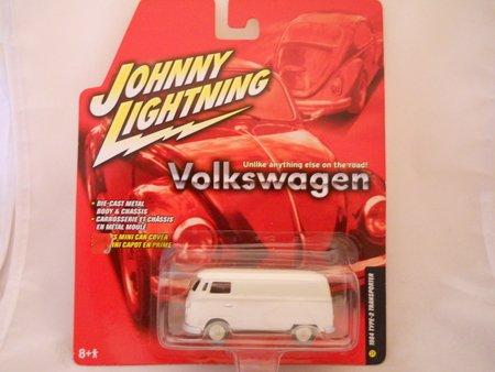 Johnny Lightning Volkswagen II Release 5 1964 Type 2 Transporter White #32