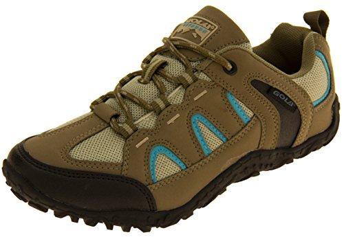 Womens Gola Taupe Hiking, Walking, Trekking Shoes 10 B(M) US