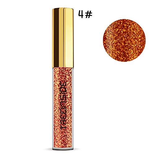 Dazzle Diamond Pearl Luster Metal Eye Shadow Fluid.,certainPL Metallic Shiny Smoky Eyes Eyeshadow Waterproof Glitter Liquid Eyeliner - Fluid Concealer