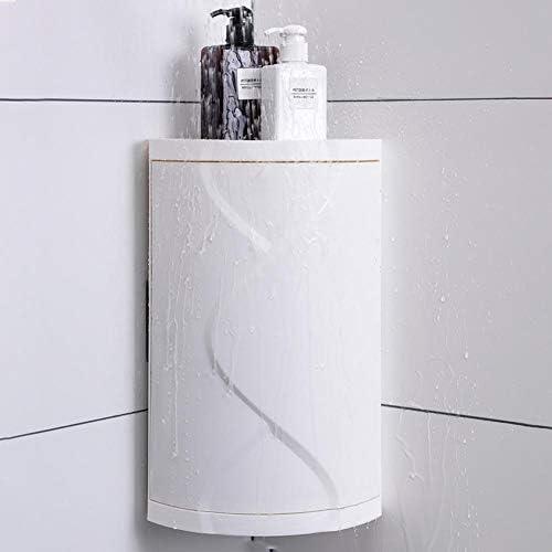 YakeHome Badezimmer Eckregal Wandmontage Lagerung Ecke Duschregal für Home Küche Badezimmer