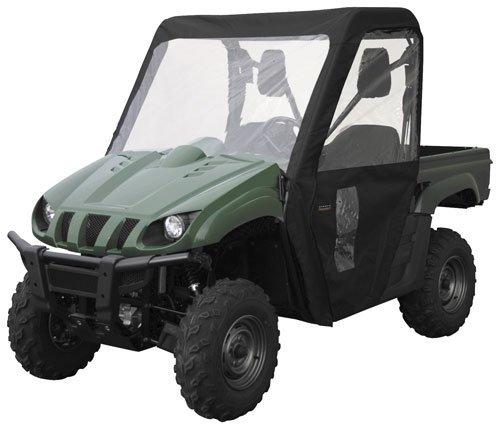 2004 Polaris Ranger 2×4 425 QuadGear Extreme Cab Enclosure – Black, Manufacturer: Classic Accessories, CAB ENCLOSURE POL BLK