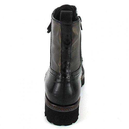 Maripe Stiefelette , Farbe: schwarz/metallic