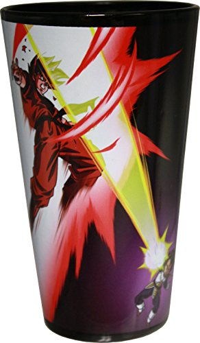 Dragon Ball Z Gear (Dragon Ball Z Goku & Vegeta Black Pint Glass)