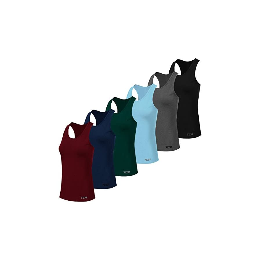 TCA Women's Natural Performance Workout & Gym Sleeveless Tank Top