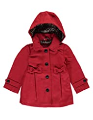 "Pink Platinum Little Girls' ""Caroline"" Hooded Coat"