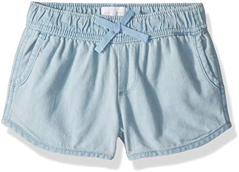 The Childrens Place Big Girls Solid Knit Waistband Short