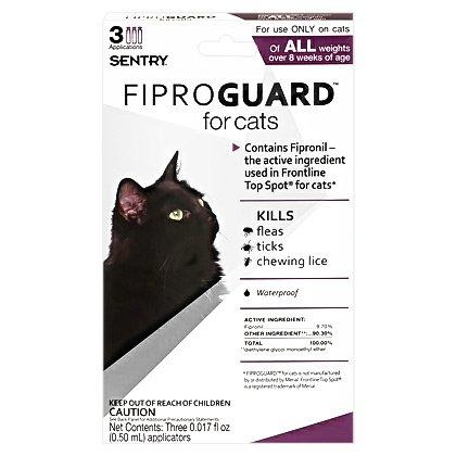 Fiproguard Cat 3pk, My Pet Supplies
