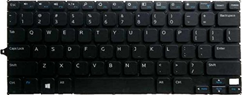 New Laptop Keyboard (without Frame) for Dell Inspiron 11-3147 11-3148 V144725AS1 0F4R5H 0R68N6 US layout Black color ndliulei