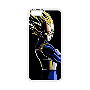 Vegeta Dragon Ball Z Anime iPhone 6 Plus 5.5 Inch Cell Phone Case White yyfabd-231230