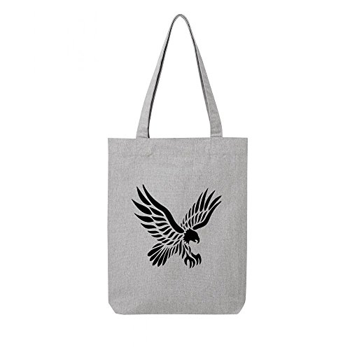 aigle en gris tribal2 toile bag Tote recycle xHXw40nwTq