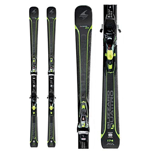 Blizzard Quattro 7.2 Ti Ski with Marker Race Xcell 12 Binding One Color, 167cm