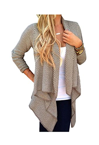 ARJOSA Womens Irregular Sleeve Cardigan