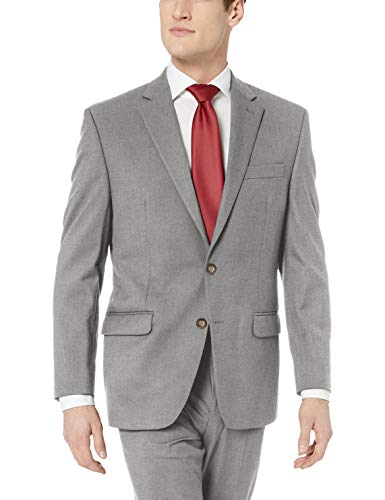 (Chaps Men's All American Classic Fit Suit Separate Pant (Blazer and Pant), Light Grey, 34W x 32L)