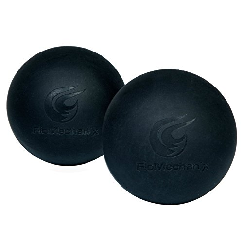 Pdf Replacement Manual - Premium Lacrosse Massage Ball - 2 Pack - Increase Mobility, Reduce Pain, Reflexology, Self Massage - Relieve Back, Neck, Glute, Shoulder Pain - Includes Usage PDF