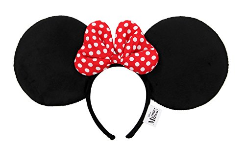 [Disney Oversized Minnie Ears Headband] (Mickey Dress)
