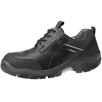 Abeba 2156–36Anatom–Zapatos de seguridad bajo, Negro, 2156-50