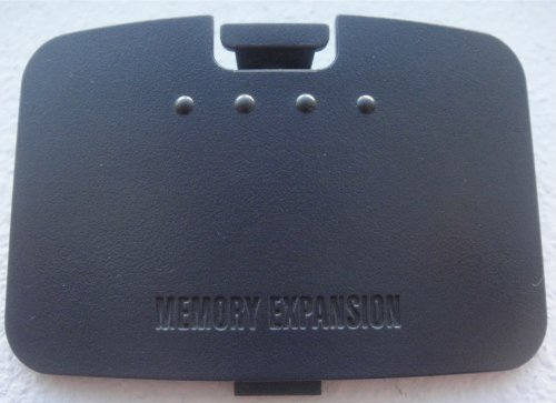 Authentic Nintendo 64 N64 Console Replacement part Memory Expansion Bay Cover Jumper Pak Door ()