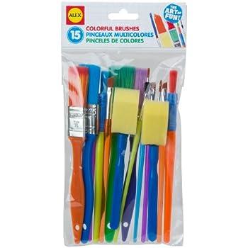 ALEX Toys Artist Studio 15 Colorful Brushes