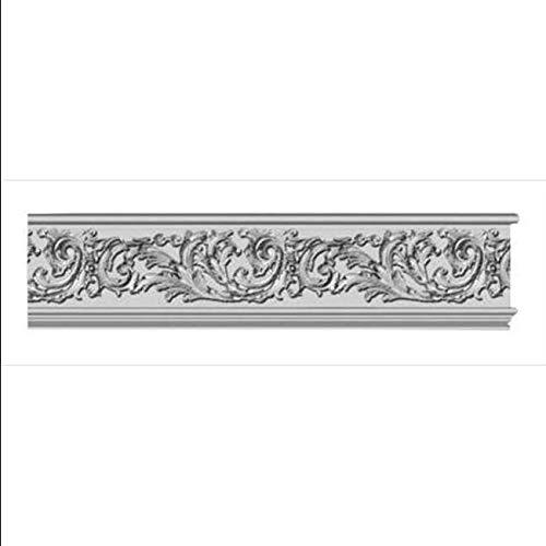 96 x 7.06 in. Floral Scroll Frieze Moulding ()
