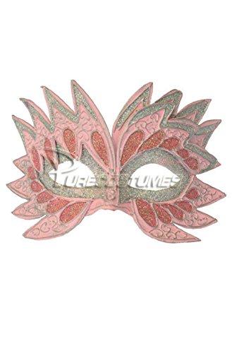 - Fiery Angel Venetian Mask (Pink)