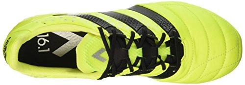 adidas Ace 16.1 Fg Leather, Botas de Fútbol para Hombre Amarillo (Syello/Cblack/Silvmt)