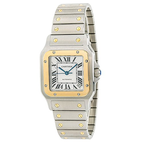 - Cartier Santos Galbee Automatic-self-Wind Male Watch W20099C4 (Certified Pre-Owned)