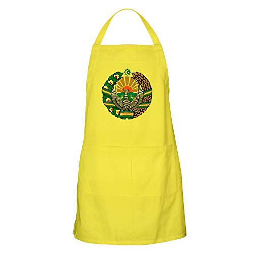 - CafePress Uzbekistan Coat of Arms BBQ Apron Kitchen Apron with Pockets, Grilling Apron, Baking Apron