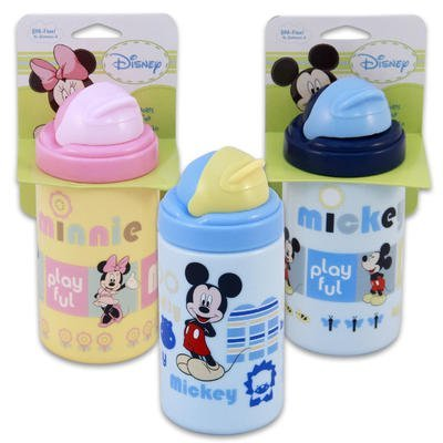Mickey & Minnie 14oz Jumbo Sipper Cup with Straw (Blue)