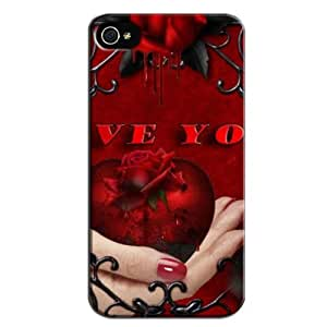 Fashion Design Protection For Iphone 4 Case Red CfSXo3GpQSm