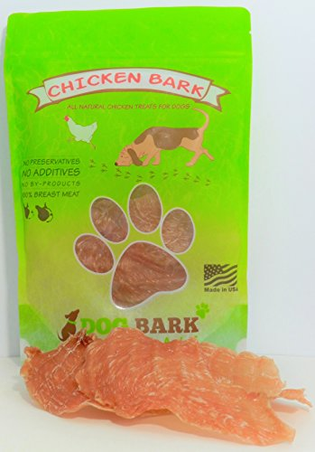 Chicken Bark - Voted Best Chicken Treat Available To Dogs, Portion Of All Proceeds Donated To Dogs In Need, 100% Sourced and Made USA, As Natural As It Gets - 1 Ingredient!