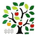 Window Gel Clings Stickers Apple Trees
