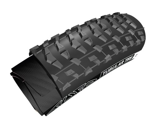 26x2.0 Tufo XC2 Plus Tubular Mountain Bike Tire with Tape (Black) by Tufo