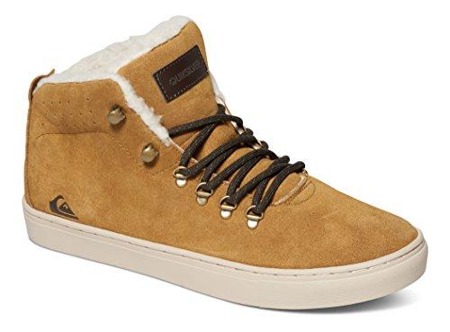 Quiksilver Jax, Zapatillas para Hombre Marrón (Brown/Brown/White)