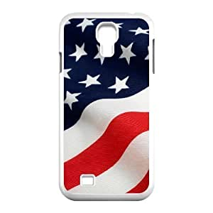 Custom Colorful Case for SamSung Galaxy S4 I9500, American Flag Cover Case - HL-R643096