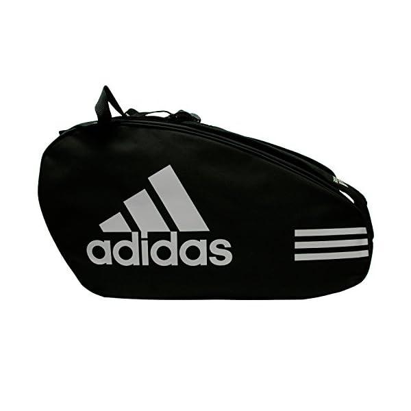 Adidas - Sacca per racchette Control, colore: nero / argento 2 spesavip