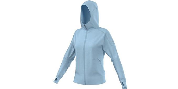 adidas ZNE Full Zip Hoodie (Womens) at Amazon Women s Clothing store  5224910ed1