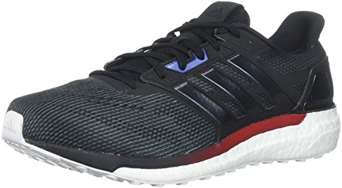 adidas Performance Men's Supernova Aktiv Running Shoe, Core Black/Core Black/White, 9 M US (Adidas Supernova Glide 6)