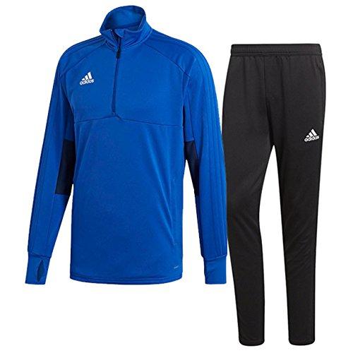 成功ポーチお祝いアディダス(adidas) CONDIVO18 トレーニングウエア 上下セット(ボールドブルー/ブラック) DJV12-CG0397-DJU99-BS0526